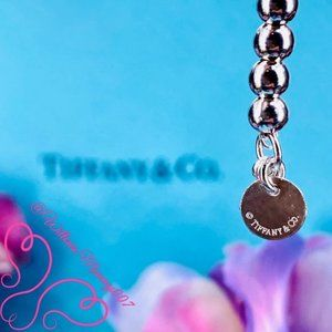 """Tiffany & Co. Jewelry - NWOT T&Co. Return to Tiffany Bead Bracelet, 7"""""""
